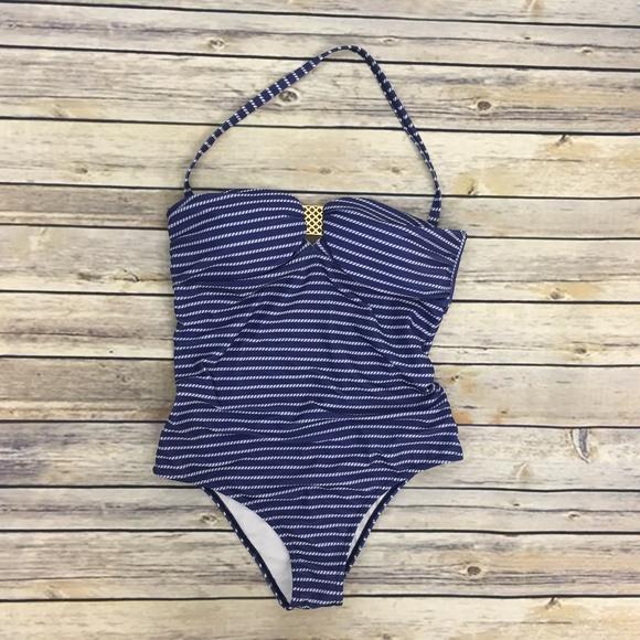 934381f989 Suncoast One Piece Swimsuit Halter Stripe Nautical.  M_5aabf9cb5512fd52023b0ca4